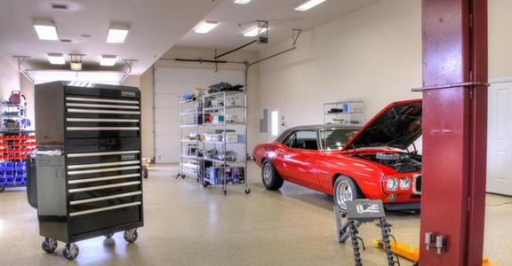 Garage Floor Coating Lansing