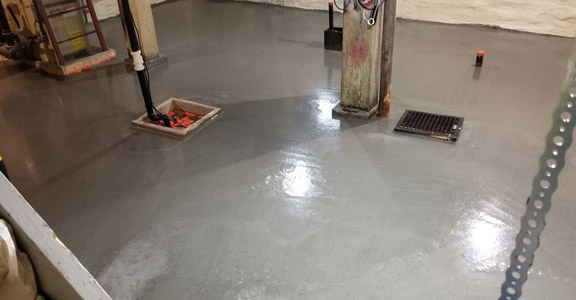 basement epoxy coating